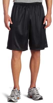 Soffe Men's Long Polyester Mini-Mesh Short