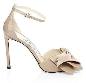 d6f36d4277 Jimmy Choo Black Stiletto Heel Women's Sandals - ShopStyle