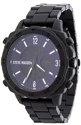 Steve Madden Men's Analog Bracelet Watch $120 thestylecure.com