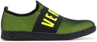 Versus logo slip-on sneakers