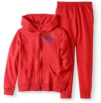 Cherokee Boys' Graphic Hoodie and Joggers 2-Piece Set