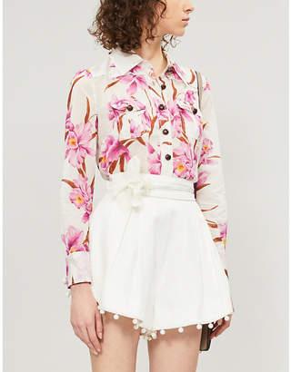 Zimmermann Corsage floral-print cotton shirt