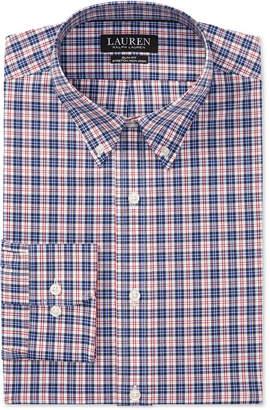 Polo Ralph Lauren Men's Slim Fit Plaid Cotton Dress Shirt