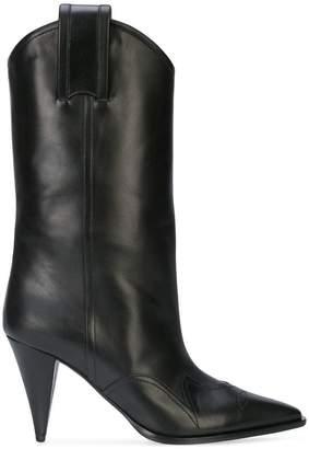 Nina Ricci stiletto cowboy-style boots