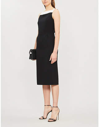 Givenchy Megan wool-crepe pencil dress