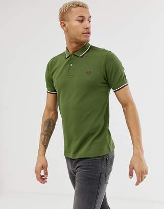 390b00eb Fred Perry Green Fashion for Men - ShopStyle UK