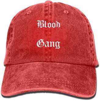 50c479155255b Ooqqe Blood Gang Baseball Hat Men And Women Summer Sun Hat Travel Sunscreen  Cap Fishing Outdoors
