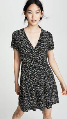 Madewell Button Wrap Retro Dress