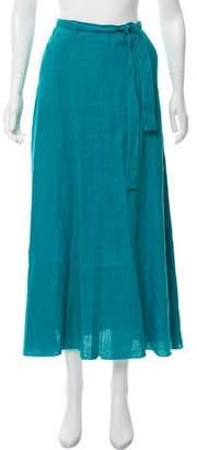 Simon Miller Delta Tie Waist Linen Skirt w/ Tags