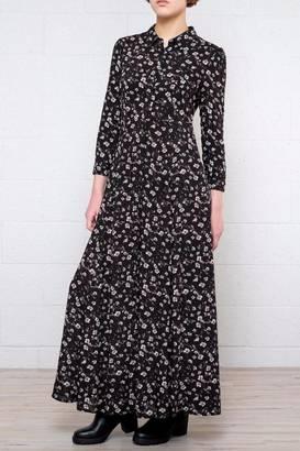 Cotton Candy Floral Blouse Dress $63 thestylecure.com