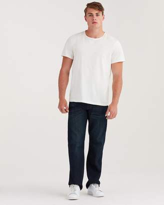 7 For All Mankind Airweft Denim Austyn Relaxed Straight in Perennial