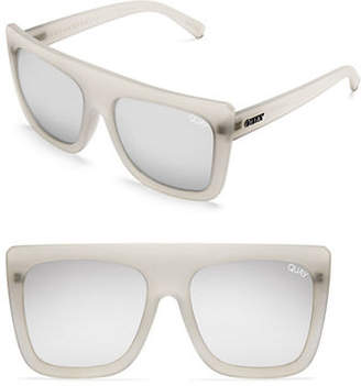 Quay Oversized 60mm Square Sunglasses