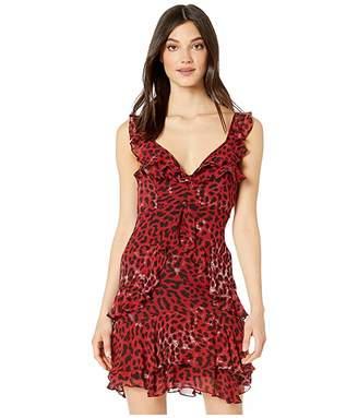 Bardot Leopard Frill Dress
