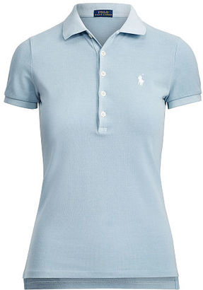 Polo Ralph Lauren Skinny Weathered Stretch Polo $89.50 thestylecure.com