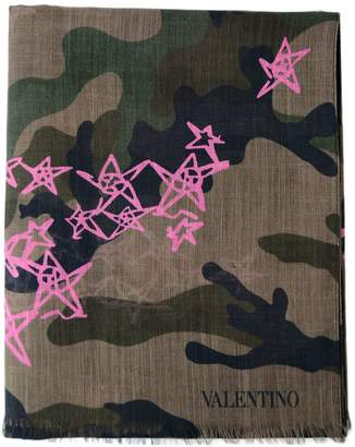 Valentino Star Print Scarf
