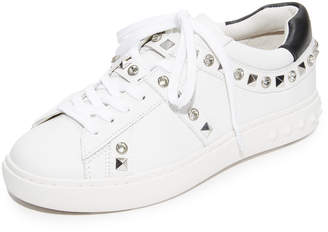 Ash Play Studded Sneakers $198 thestylecure.com