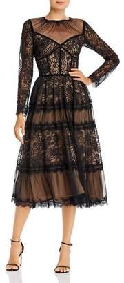 Tadashi Shoji Lace Fit-and-Flare Dress