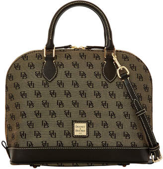 Dooney Bourke Madison Signature Zip Satchel