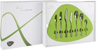 Tilia Studio William Obsidian 56-Piece Cutlery Set