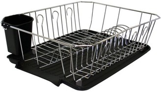 Kennedy Home Collection Simplify Dish Rack, Chrome