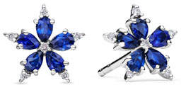 Paul Morelli Mini Stellanise Sapphire & Diamond Stud Earrings
