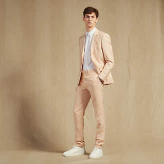 Sandro Linen blend suit pants