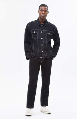 Pacsun Solid Black Dad Jeans