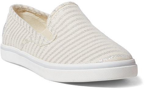 Ralph Lauren Lauren Janis Striped Slip-On Sneaker