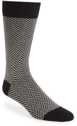 Ted Baker Ronimow Herringbone Socks