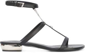 La Perla Flat sandals with chain