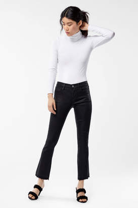 Selena Mid-Rise Cropped Boot Cut in Fearless