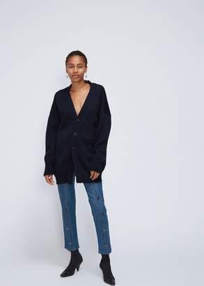 Delada Split Wool Cardigan