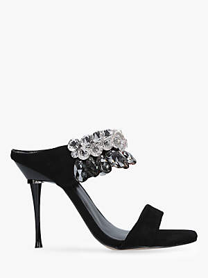 3ce3d273e02 at John Lewis and Partners · Carvela Galactic Stiletto Heel Sandals