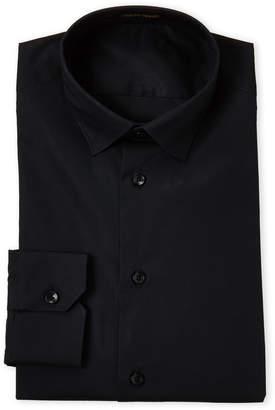 Roberto Cavalli Black Slim Fit Dress Shirt