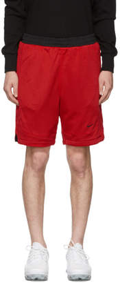 Nike Reversible Red and Black NRG Shorts