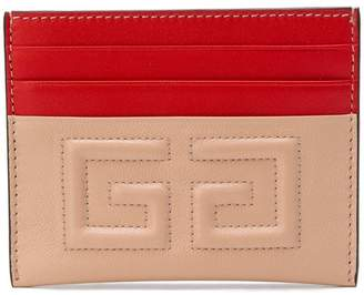 Givenchy emblem card case