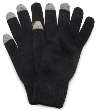 Quietwear QuietWear Knit Texting Gloves - Men