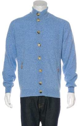 Brunello Cucinelli Cashmere Rib Knit Cardigan w/ Tags