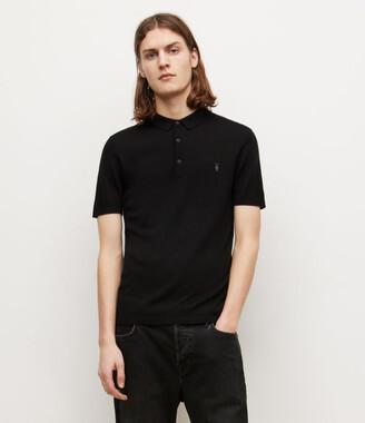 AllSaints Mode Merino Polo Shirt