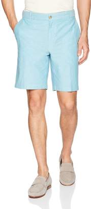 Izod Men's Flat Front Solid Oxford Short
