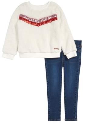 Hudson Sweatshirt & Jeans Set