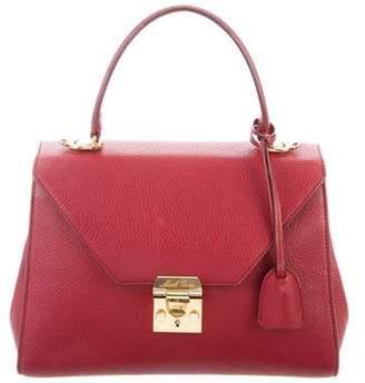 Mark Cross Scottie Top Handle Bag