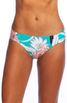 Trina Turk Shirred Side Hipster Bikini Bottoms