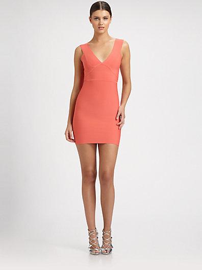 BCBGMAXAZRIA Lauren Body-Con Dress