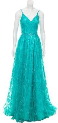 Jovani Embellished Sleeveless Gown