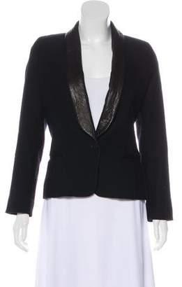 Isabel Marant Wool Button-Up Blazer