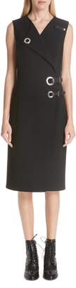 Altuzarra Hardware Detail Sheath Dress