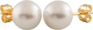 Splendid Pearls 14K 7-7.5Mm Freshwater Pearl Studs