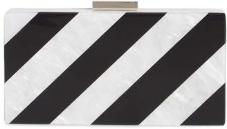 Like Dreams Stripe Box Clutch