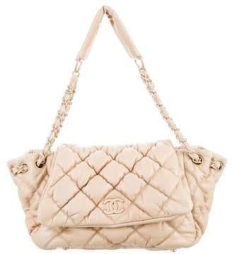 Chanel Bubble Quilt Accordion Flap Bag